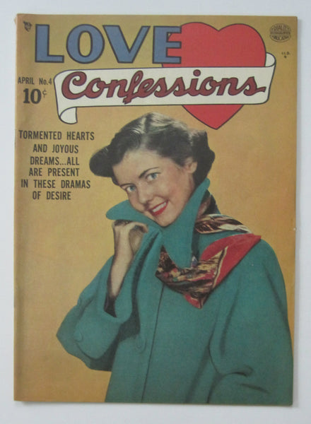 Love Confessions #4 (Apr 1950, Quality) Reed Crandall art FN- 5.5