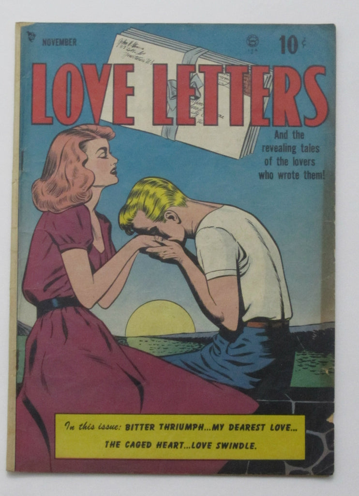 Love Letters #1 (Nov 1949, Quality) VG 4.0