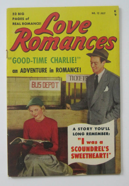 Love Romances #12 (Jul 1950, Timely) VG/FN 5.0