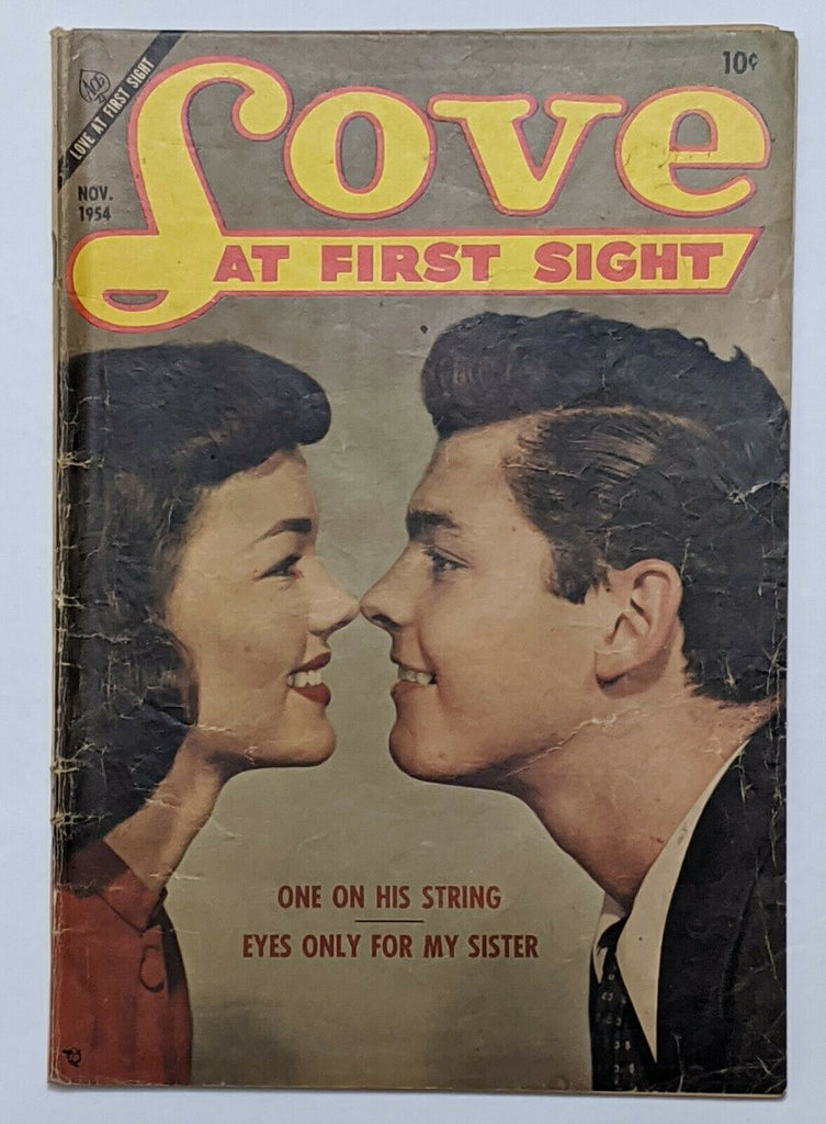 Love At First Sight #31 (Nov 1954, Ace) Good+ 2.5 Photo cover