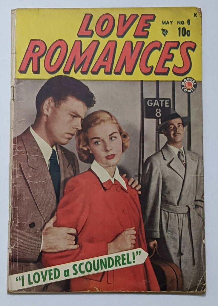 Love Romances #6 (May 1949, Timely) VG- 3.5 Pre-Code Romance