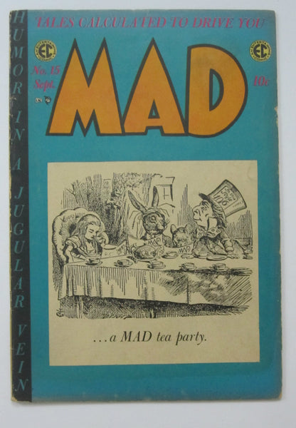 Mad #15 (Sep 1954, EC) VG 4.0