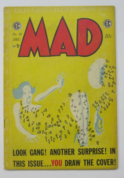 Mad #18 (Dec 1954, EC) VG+ 4.5