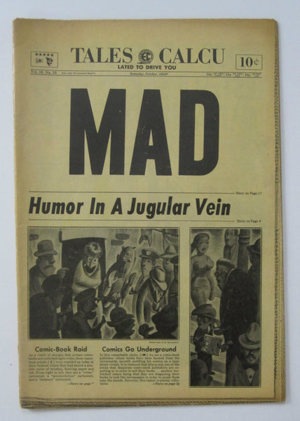 Mad #16 (Oct 1954, EC) VG- 3.5