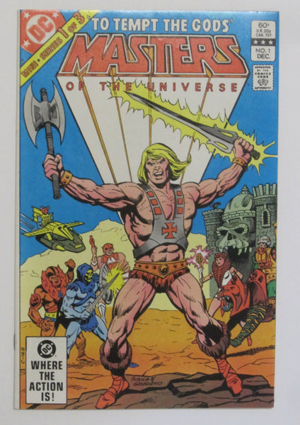 Masters of the Universe #1 (Dec 1982, DC)
