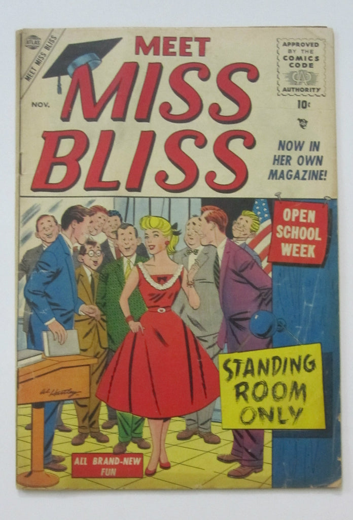 Meet Miss Bliss #4 (Nov 1955, Atlas) G/VG 3.0