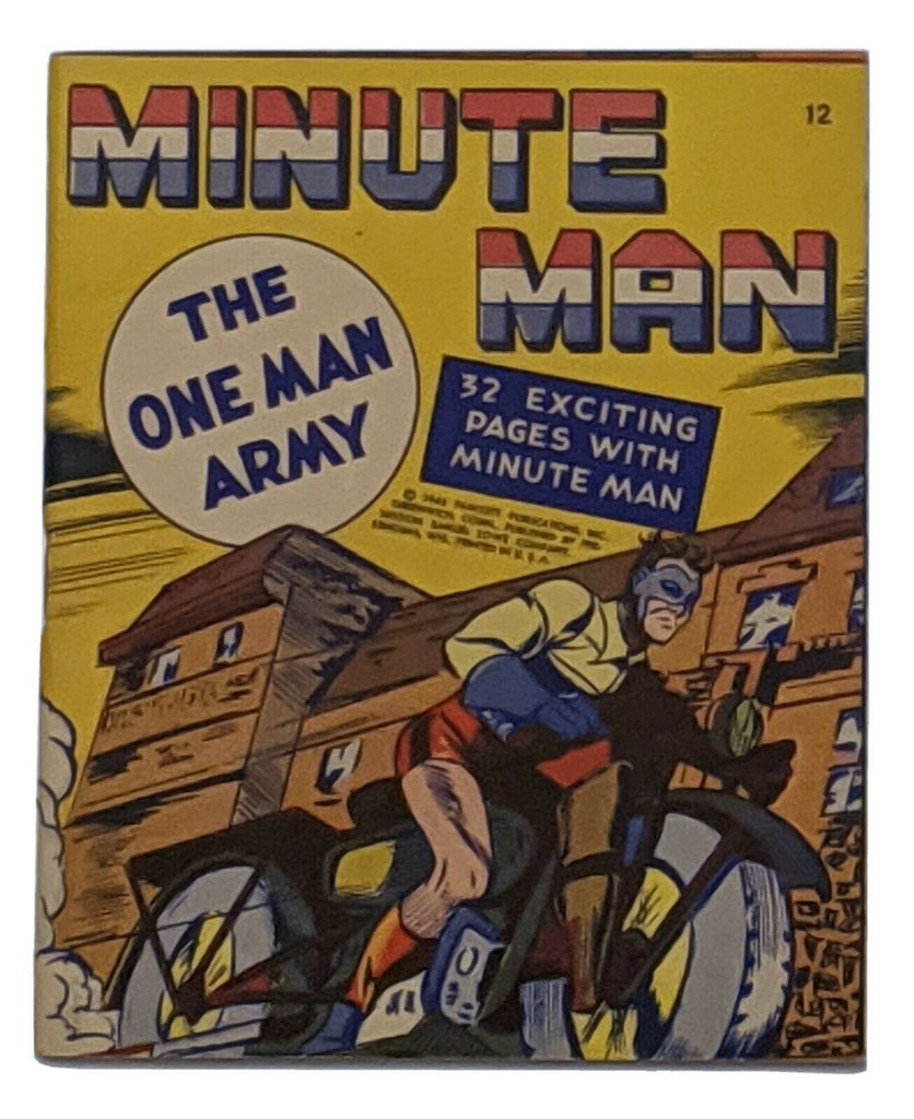 Minute Man Mighty Midget Comics 1943 Fawcett VF/NM 9.0