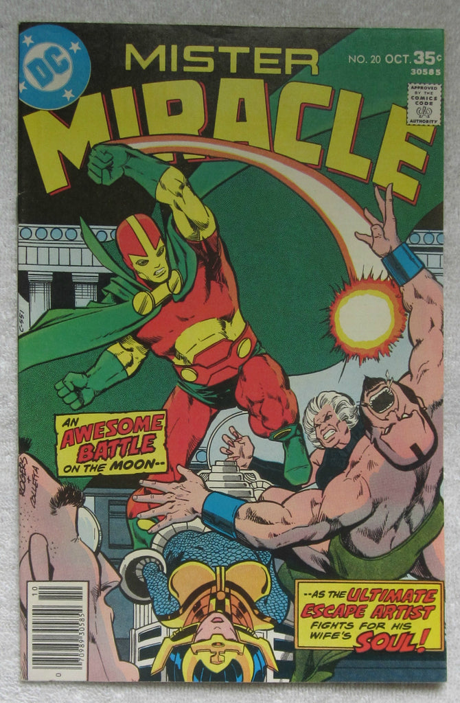 Mister Miracle #20 (Oct 1977, DC) VF 8.0