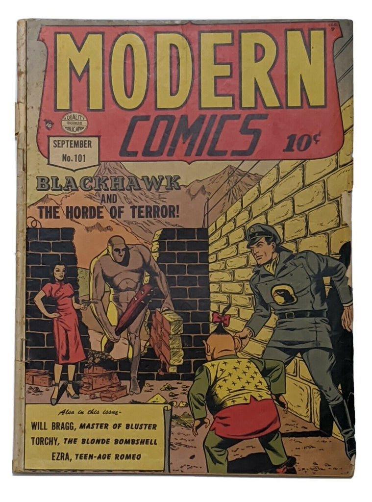 Modern Comics #101 (Sept 1950, Quality) Good 2.0 Reed Crandall cvr