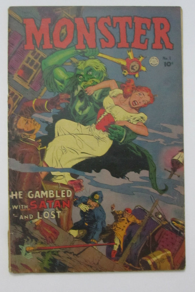 Monster #1 (1953 Fiction House) Maurice Whitman cvr G/VG 3.0
