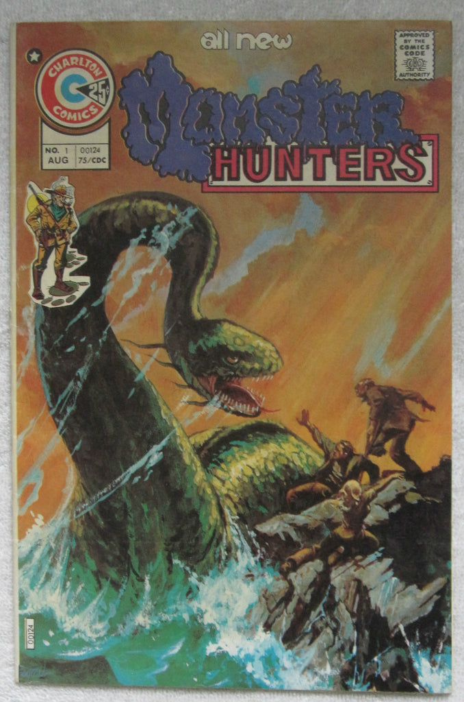 Monster Hunters #1 (Aug 1975, Charlton) F/VF 7.0