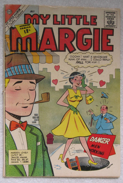 My Little Margie #42 (Jul 1962, Charlton) G/VG 3.0
