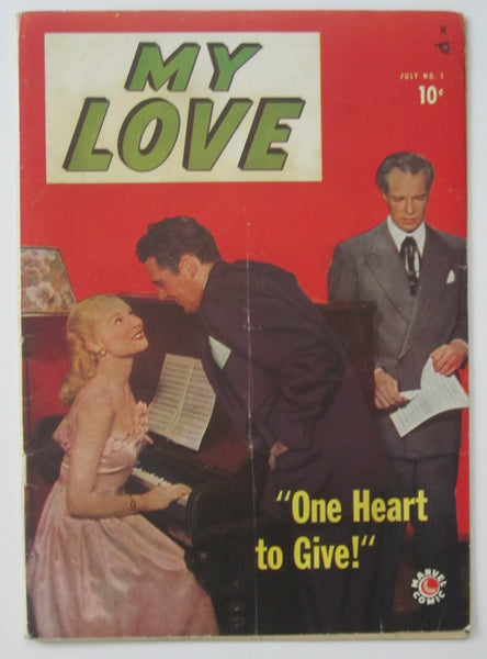 My Love #1 (Jul 1949, Marvel) VG- 3.5