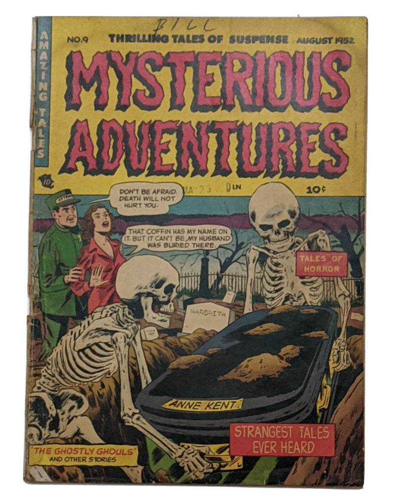 Mysterious Adventures #9 (Aug 1952, Story) Good 2.0