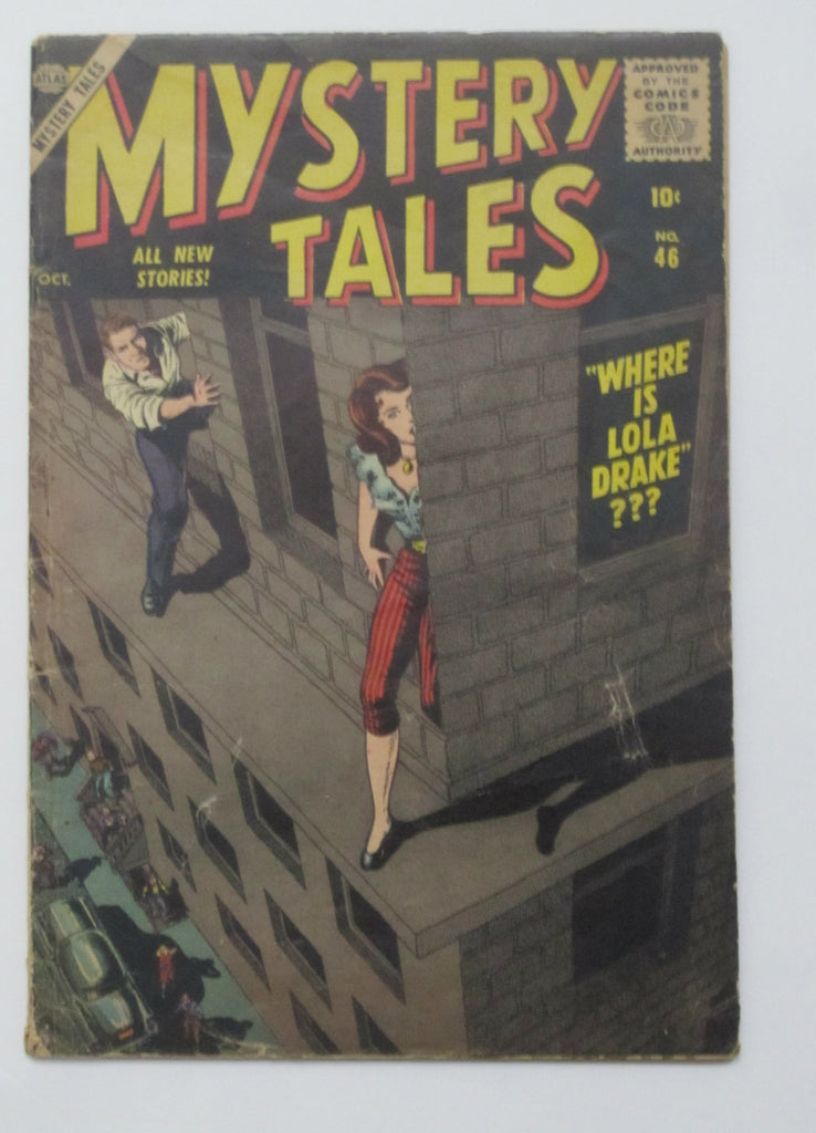 Mystery Tales #46 (Oct 1956, Atlas) VG- 3.5