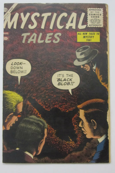 Mystical Tales #3 (Aug 1956, Atlas) Bill Everett cvr VG- 3.5