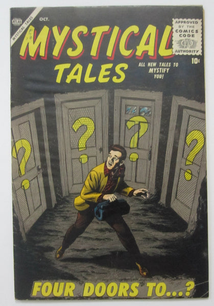 Mystical Tales #3 (Oct 1956, Atlas) Bill Everett cvr Reed Crandall art VG 4.0