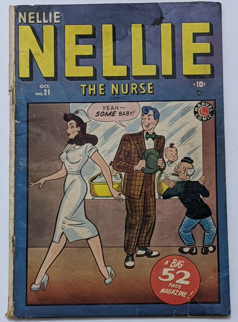 Nellie The Nurse #21 (Oct 1949, Timely) Good 2.0 GGA Stan Lee stories