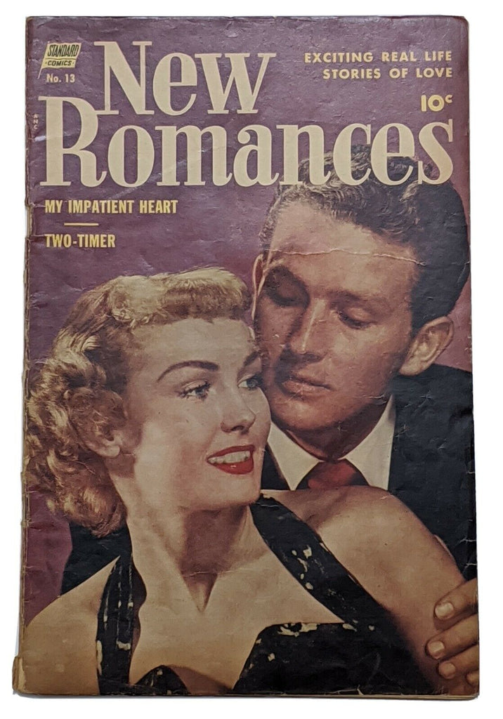New Romances #13 (Sept 1952, Standard) Good+ 2.5 Photo cover