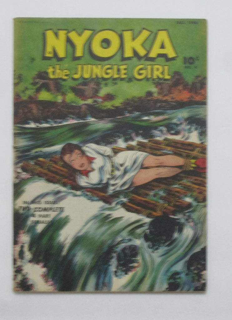 Nyoka The Jungle Girl #4 (Fall 1946, Fawcett) VG/FN 5.0