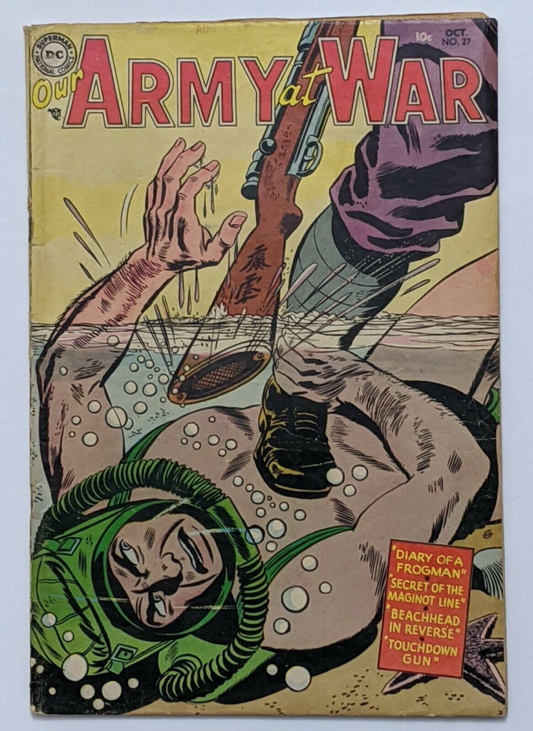 Our Army At War #27 (Oct 1954, DC) VG- 3.5 Ross Andru art