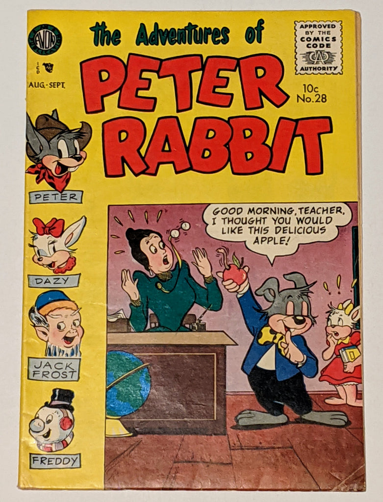Peter Rabbit Comics #28 (Sept 1955 Avon) FN+ 6.5
