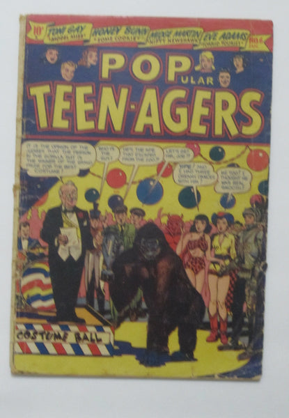 Popular Teenagers #6 (Jan 1951, Star) Good- 1.8 L.B. Cole cover