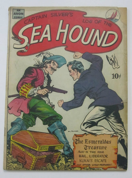 Sea Hound #1 (1945, Avon) Good 2.0