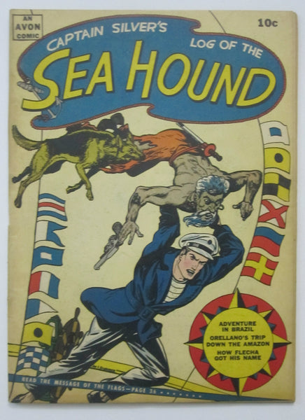 Sea Hound #2 (Oct 1945, Avon) VG/FN 5.0