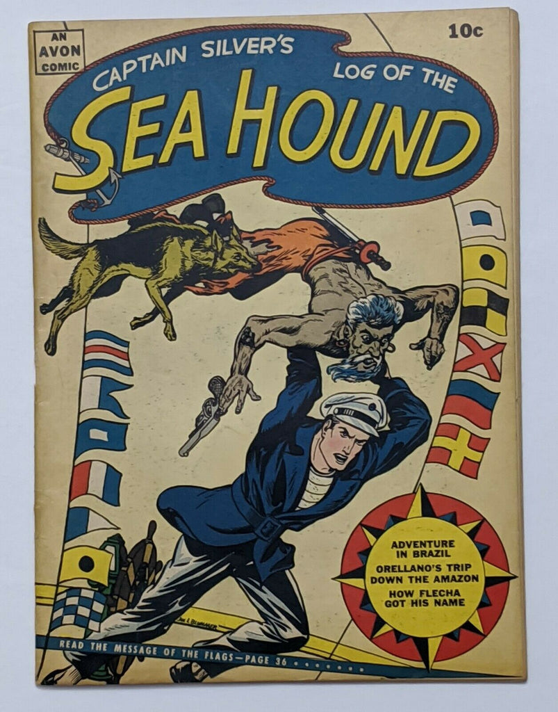 Captain Silver's Log Of The Sea Hound #2 (Oct 1945, Avon) VG 4.0