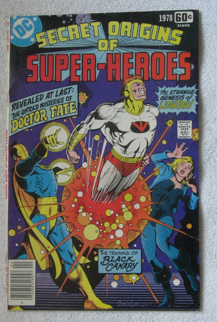 DC Special Series #10 Secret Origins of Super-Heroes (April 1978, DC) F/VF 7.0