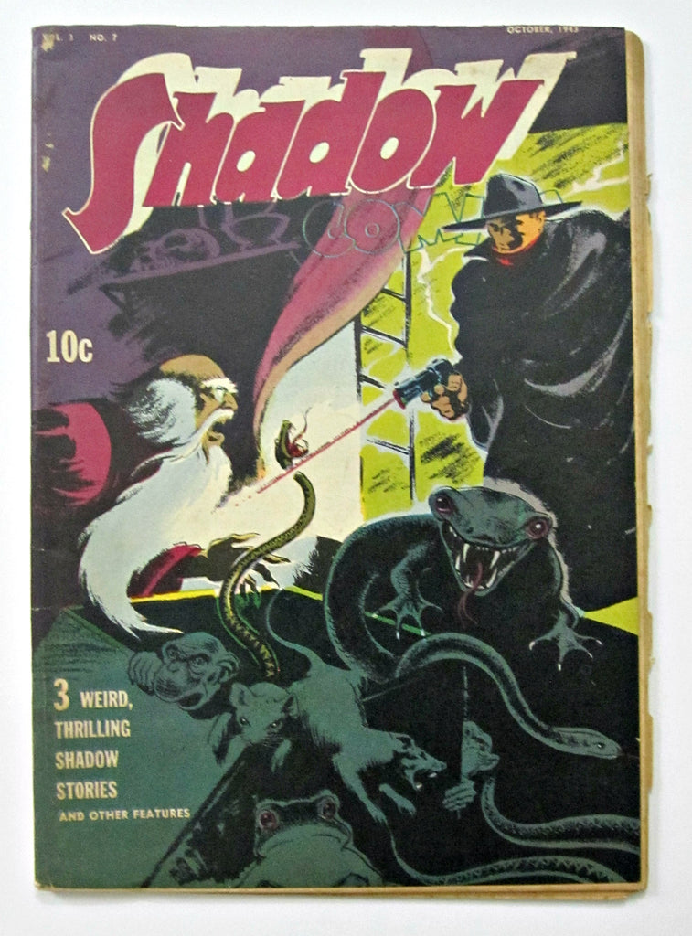 Shadow Comics Vol. 3 No. 7 (Oct 1943, Street & Smith) VG 4.0
