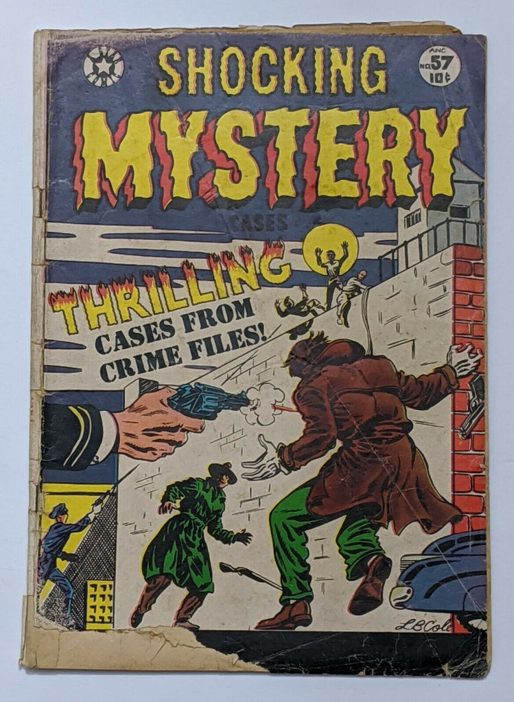 Shocking Mystery Case #57 (Feb 1954, Star) Fair/Good 1.5 L.B. Cole cvr