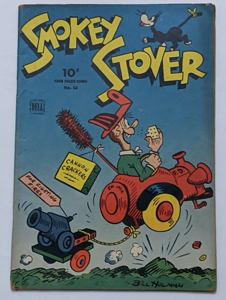 Four Color #64 Smokey Stover (Feb 1945, Dell) VG 4.0