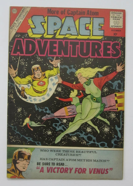 Space Adventures #37 (Dec 1960, Charlton) Captain Atom app Ditko art FN 6.0