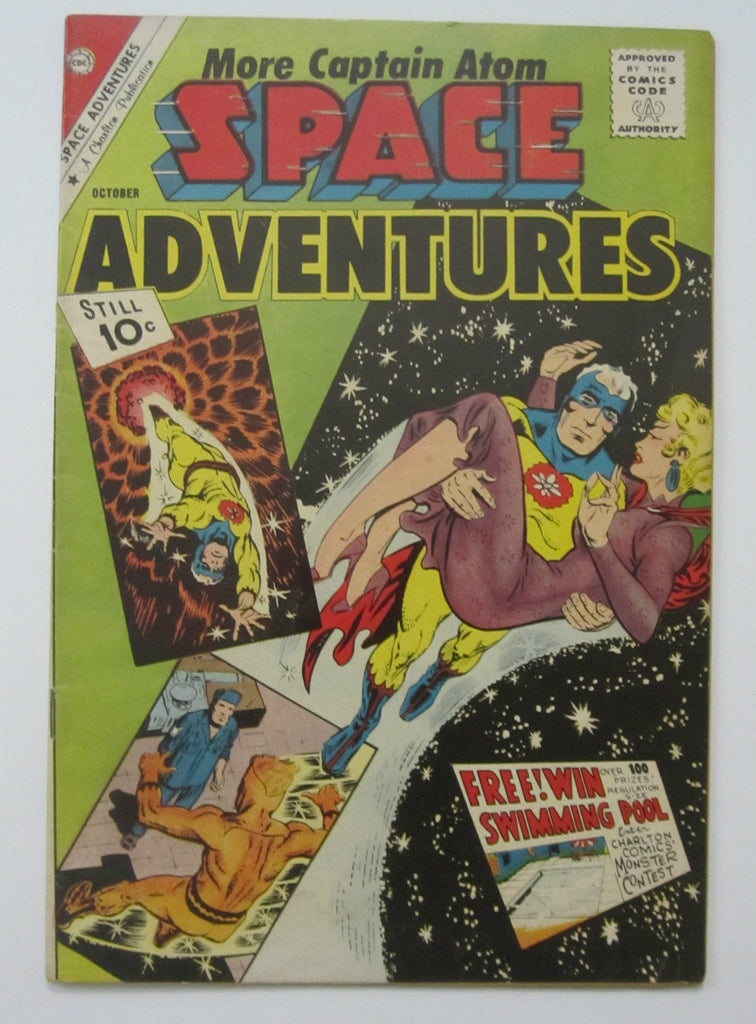 Space Adventures #42 (Oct 1961, Charlton) Captain Atom app Ditko art FN 6.0