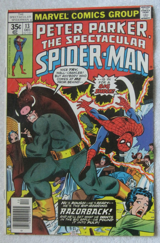 The Spectacular Spider-Man #13 (Dec 1977, Marvel) VF/NM 9.0