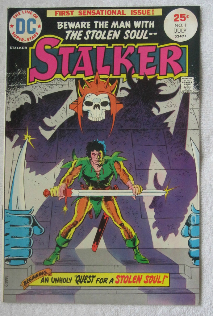 Stalker #1 (Jun-Jul 1975, DC) Ditko/Wood cvr VF+ 8.5