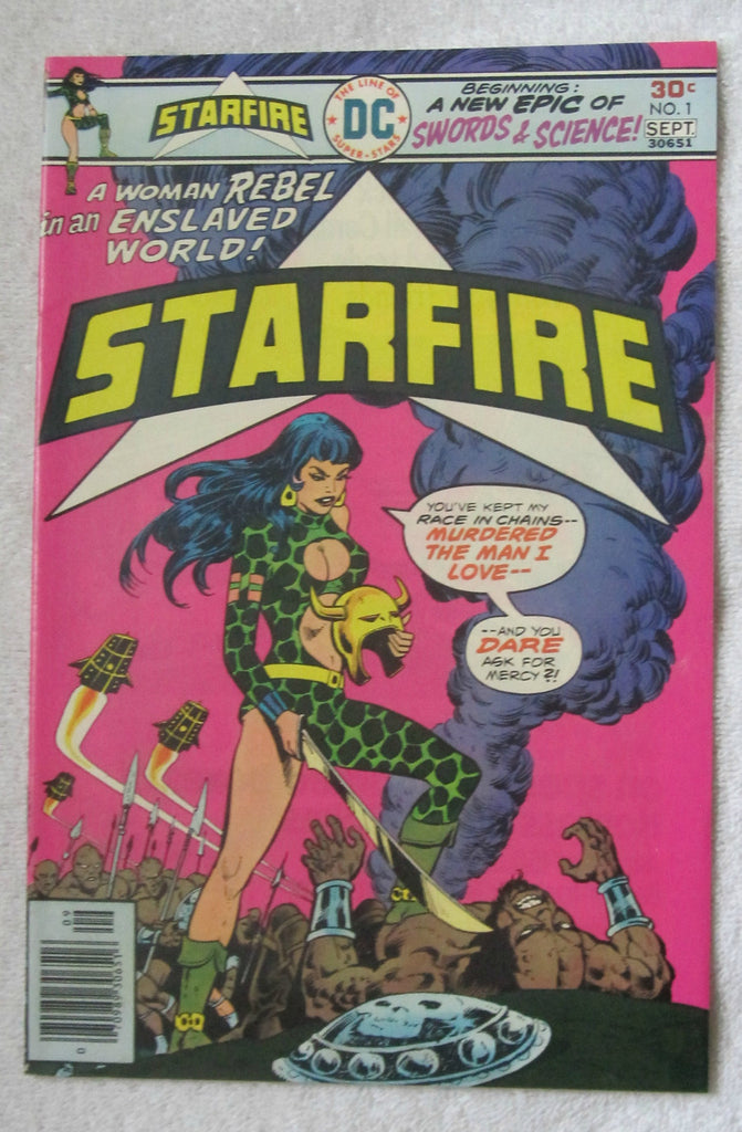 Starfire #1 (Aug-Sep 1976, DC) VF+ 8.5