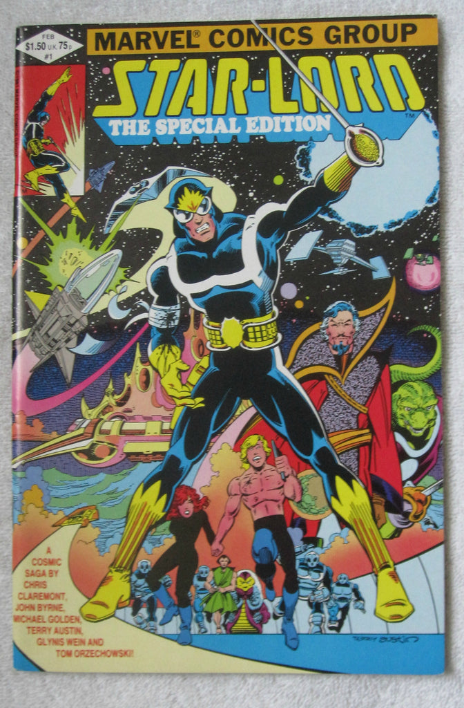 Starlord, The Special Edition #1 (Feb 1982, Marvel) NM- 9.2