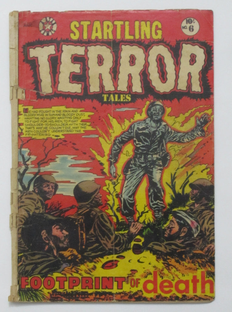 Startling Terror Tales #6 (Aug 1953, Star) Fair/Good 1.5 L. B. Cole cover