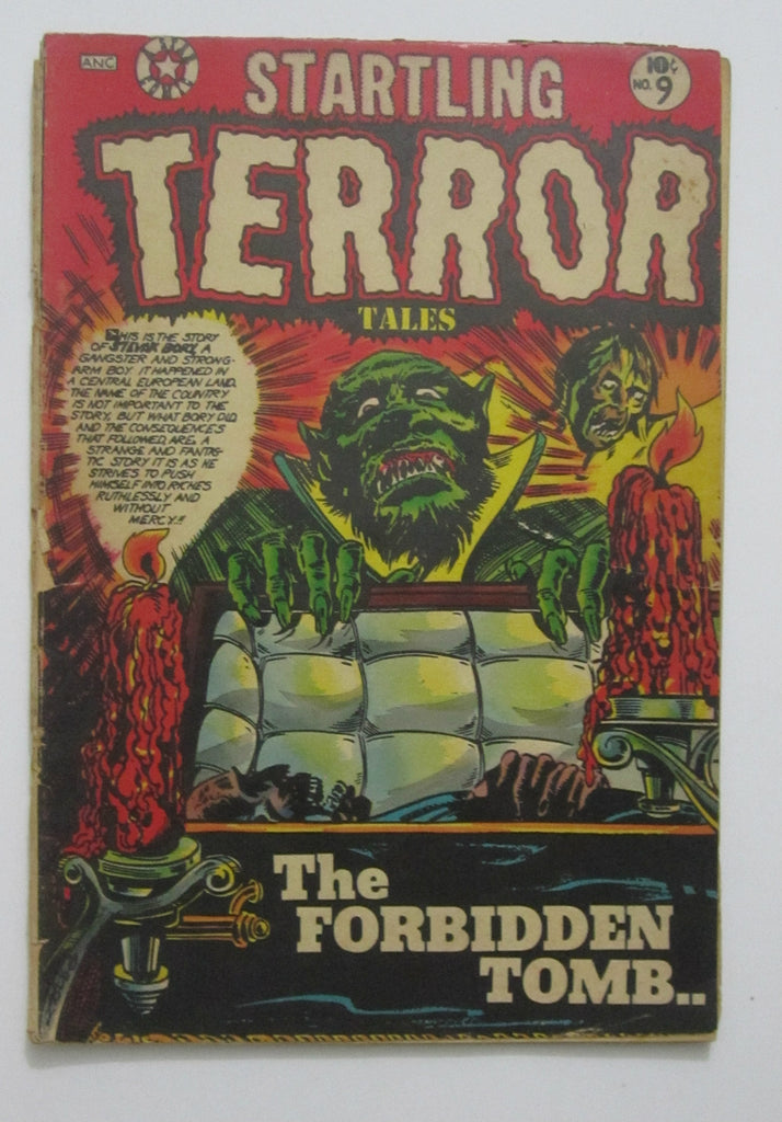 Startling Terror Tales #9 (May 1954, Star Publications) L.B. Cole cvr Fair 1.0