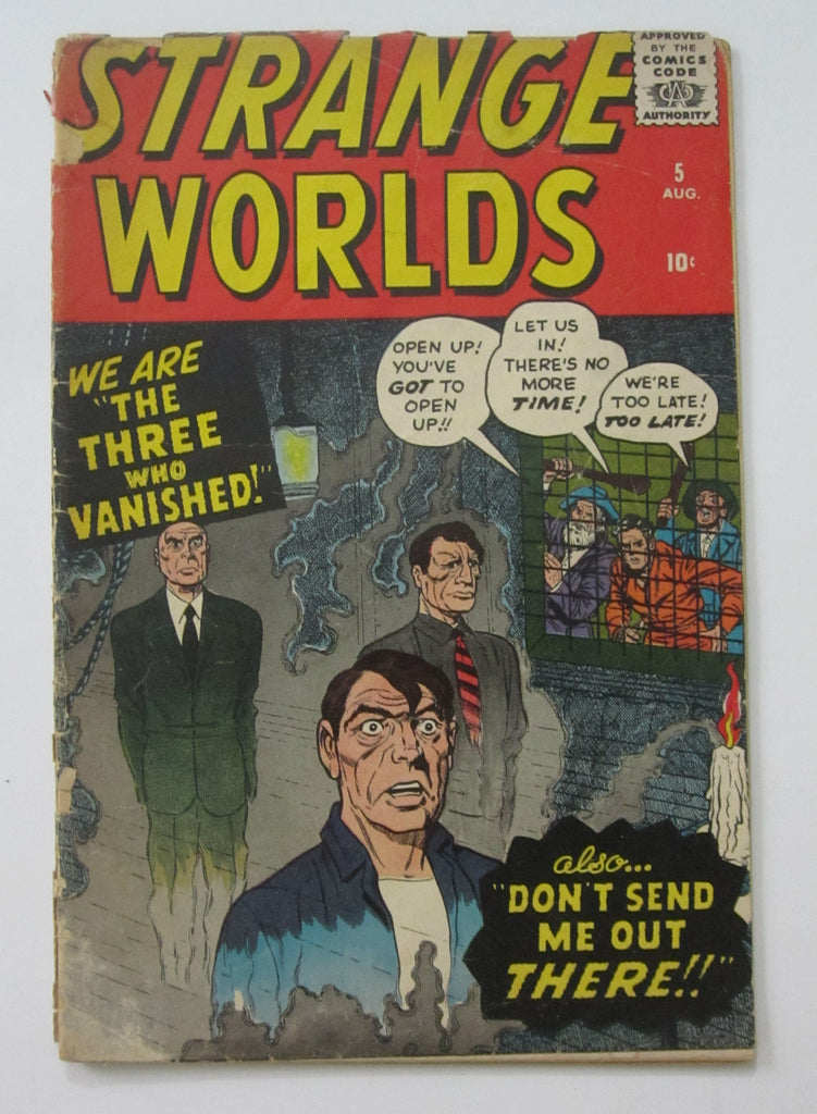 Strange Worlds #5 (Aug 1959, Atlas) Ditko art Good- 1.8