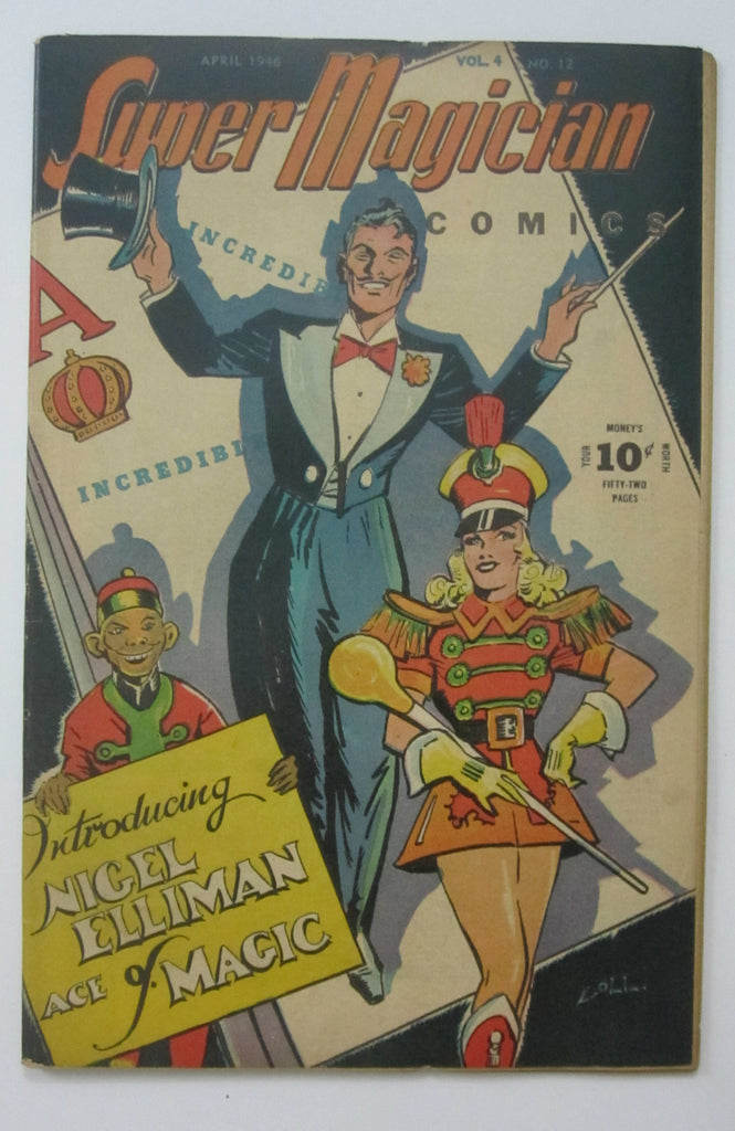 Super Magician Vol. 4 No. 12 (Apr 1946, Street & Smith) FN 6.0