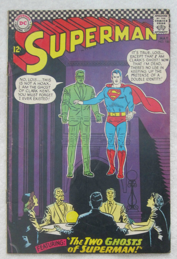 Superman #186 (May 1966, DC) VG 4.0