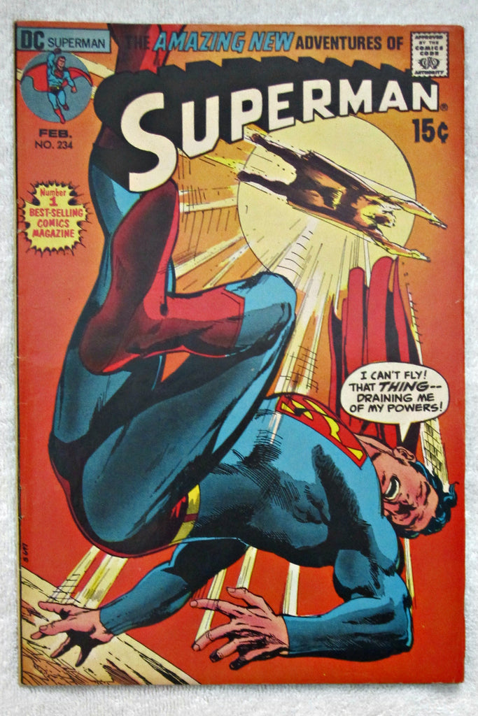 Superman #234 (Feb 1971, DC) Fine 6.0