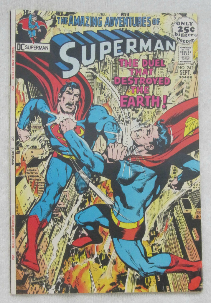 Superman #242 (Sep 1971, DC) F/VF 7.0