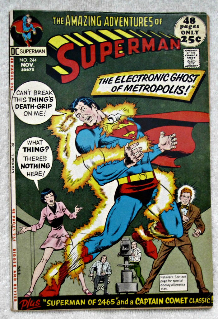 Superman #244 (Nov 1971, DC) VG 4.0