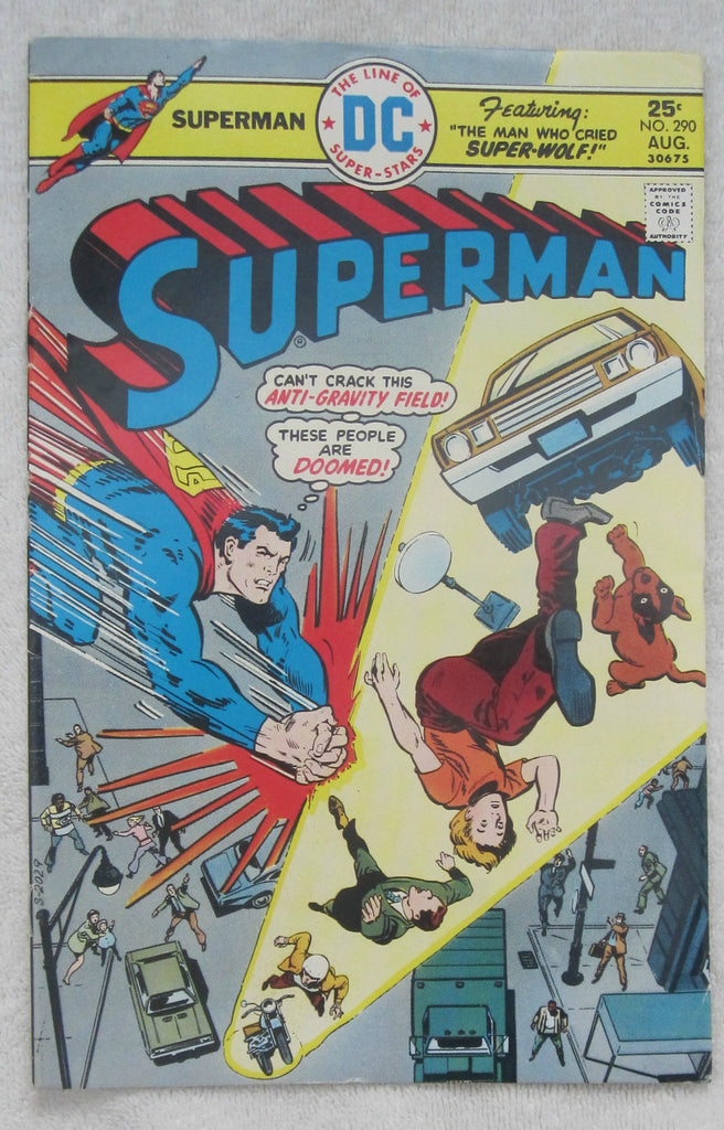 Superman #290 (Aug 1975, DC) Fine 6.0