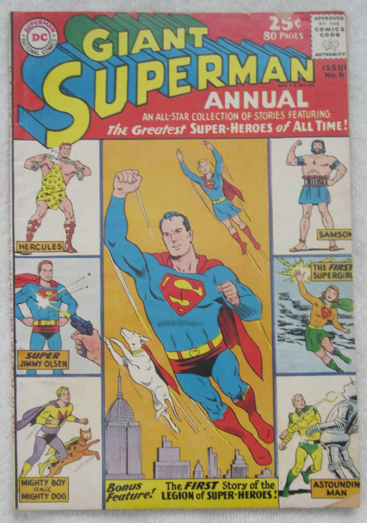 Superman Annual #6 (Winter 1962-1963, DC) Good 2.0